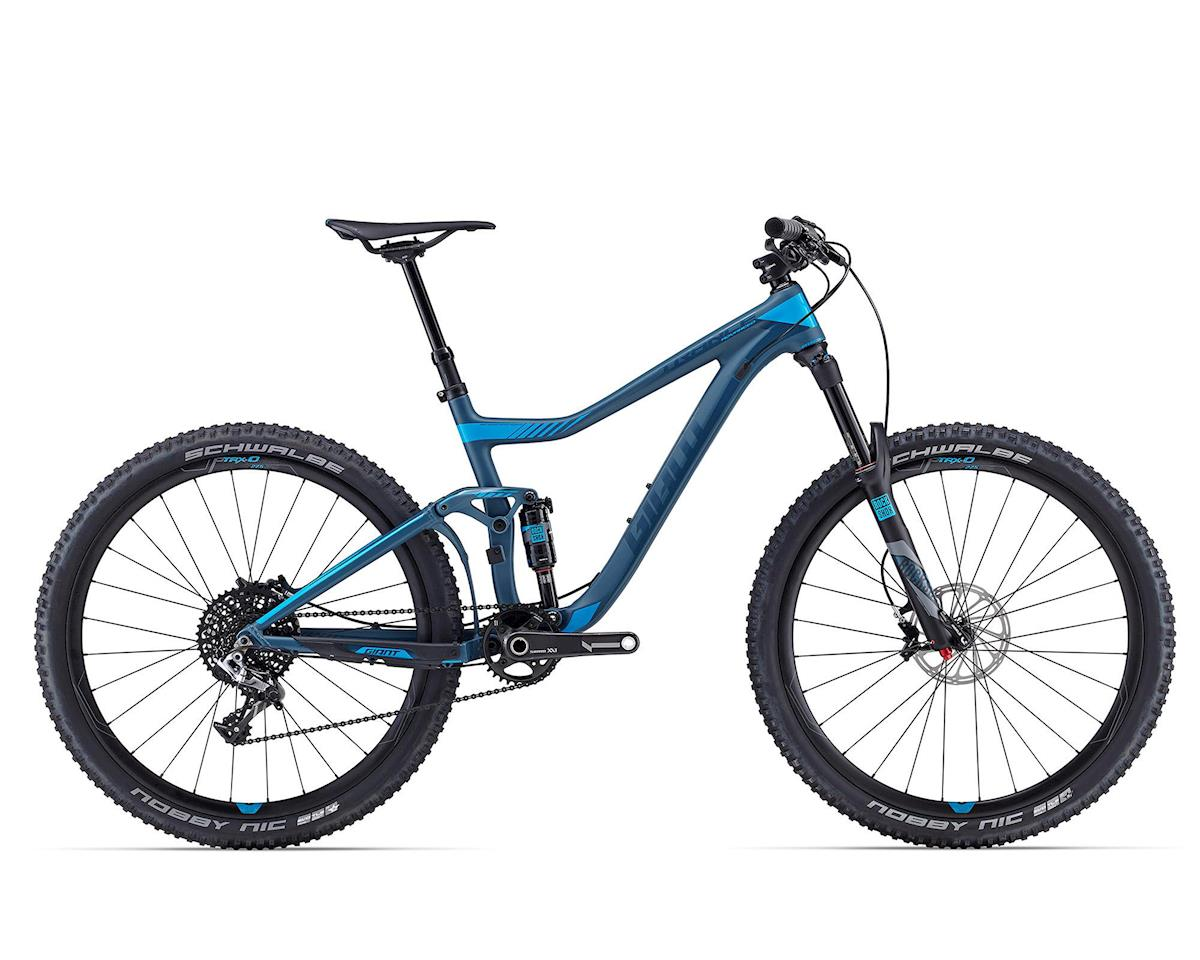 Giant Trance Advanced 27.5 0 (2016) (Matte Grey/Green/ Blue)
