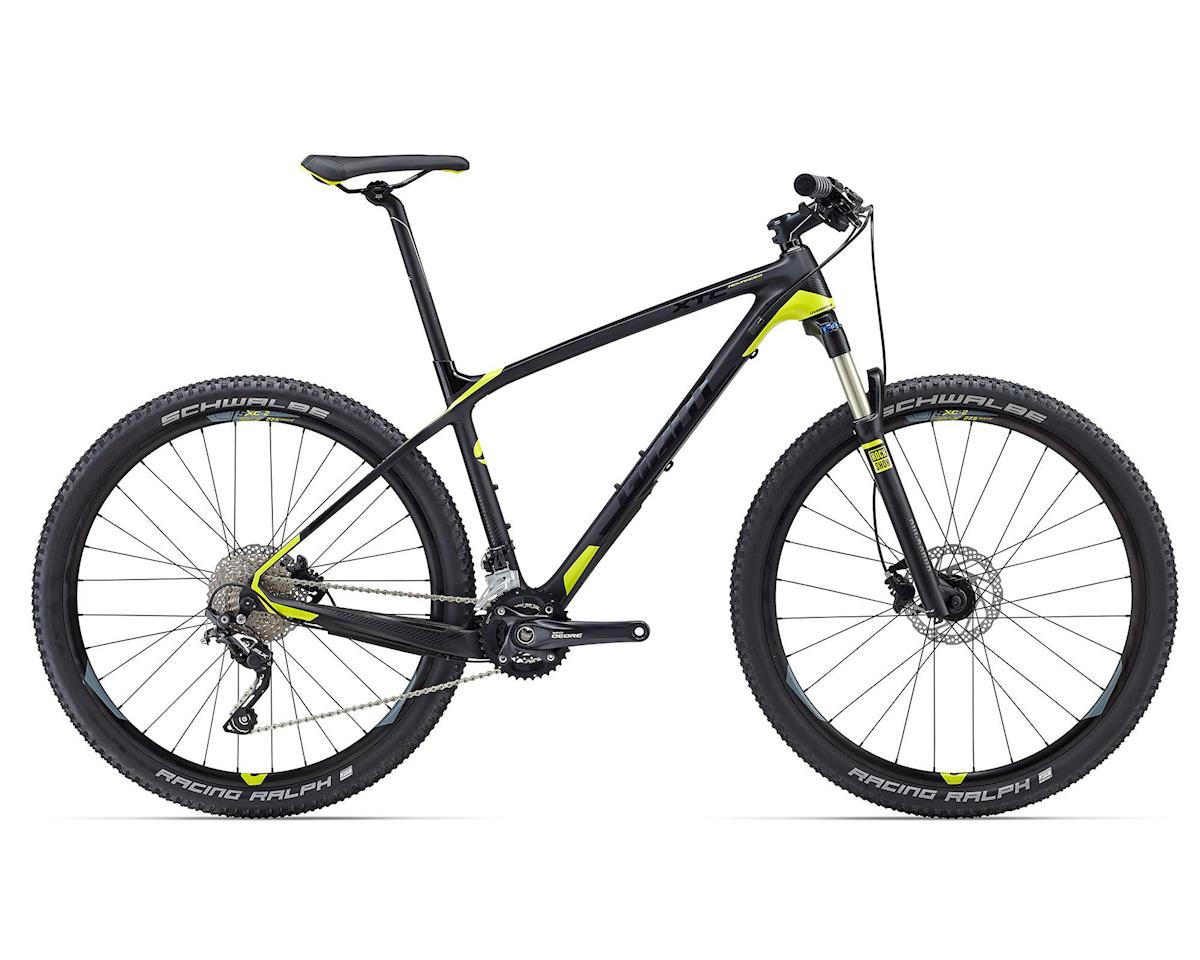 Giant XTC Advanced 27.5 3 Hard Tail MTB (2016) (Composite/Yellow)