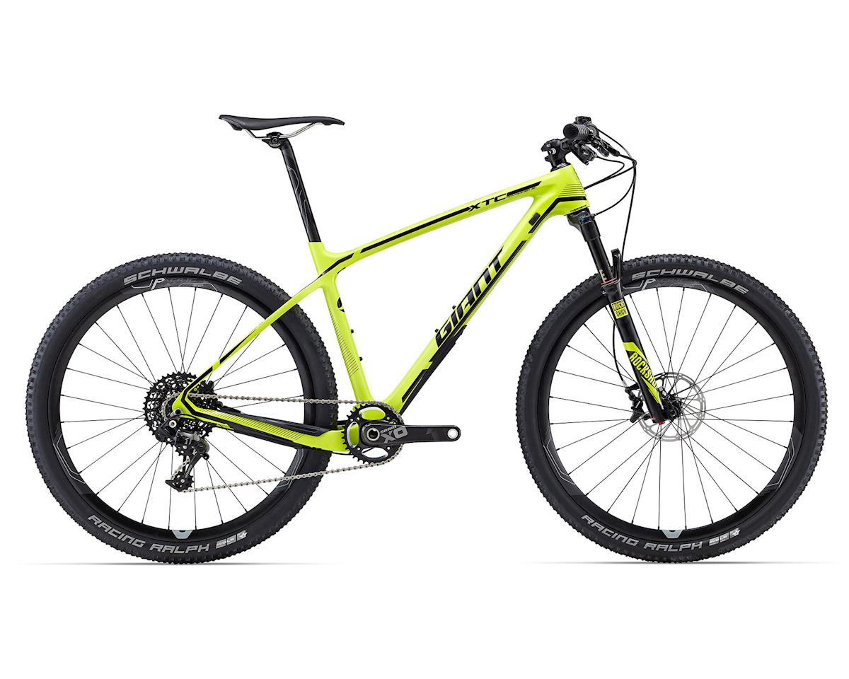 Giant XTC Advanced SL 27.5 1 Hard Tail MTB (2016) (Lime/Black)