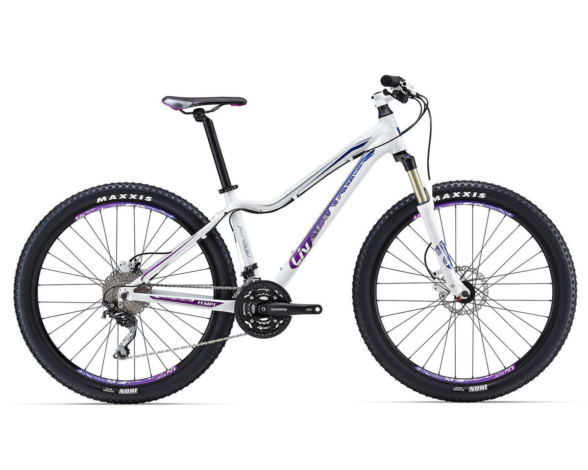 Liv/Giant Tempt 2 Womens Hard Tail MTB (2016) (White/Purple)