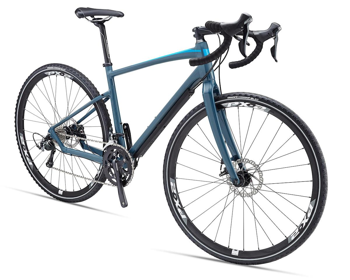 Giant Revolt 1 Gravel Bike 2016 Matte Grey Green Blue