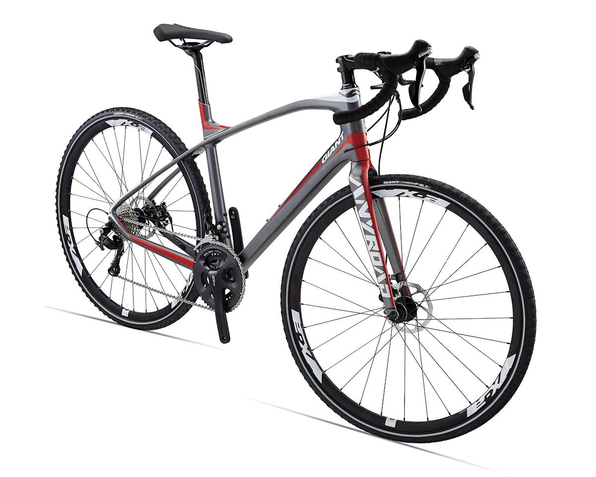 Giant AnyRoad CoMax Adventure Bike (2016) (Charcoal/Red)