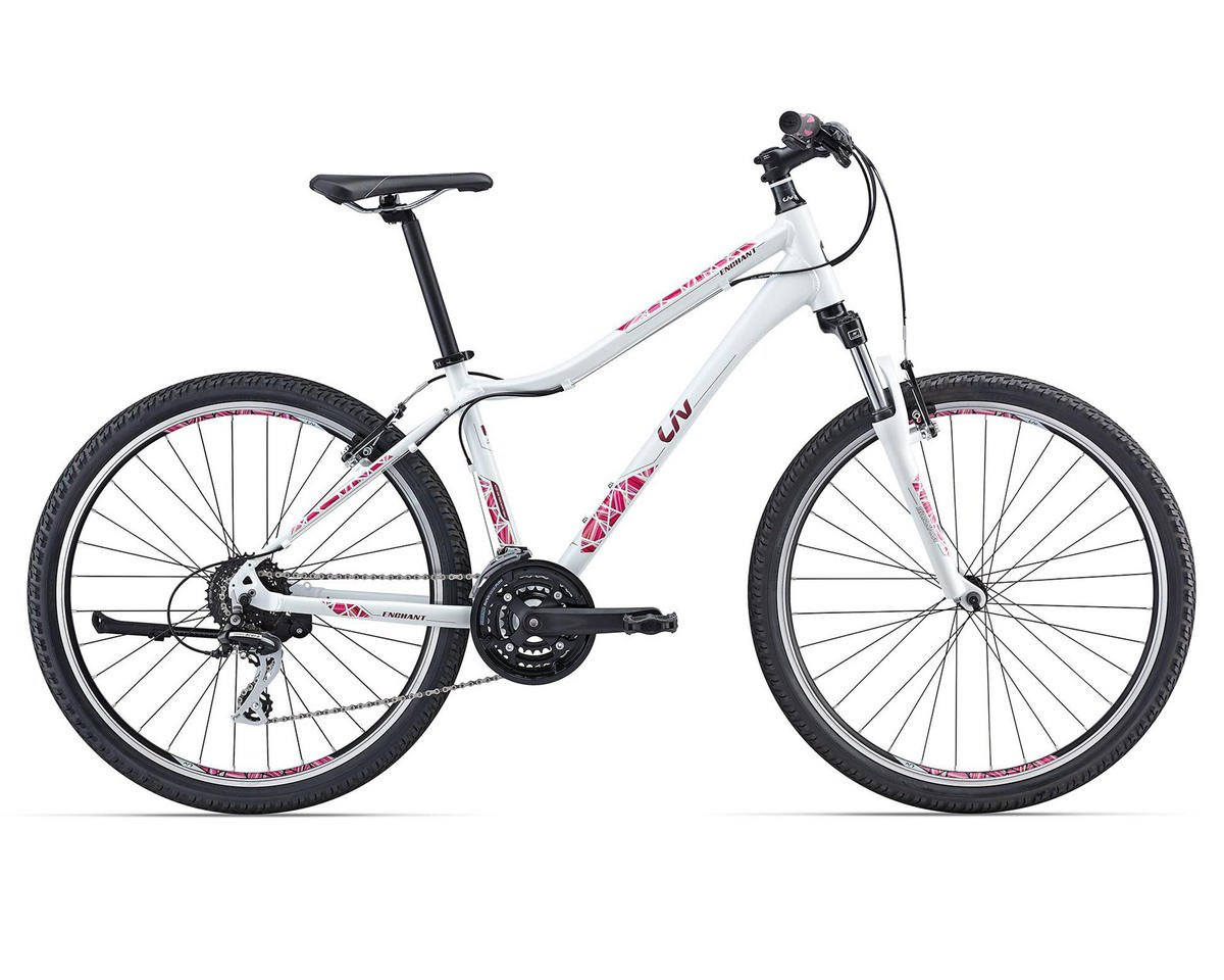 Liv/Giant Enchant 1 Women's MTB (2016) (Pearl White/Red)
