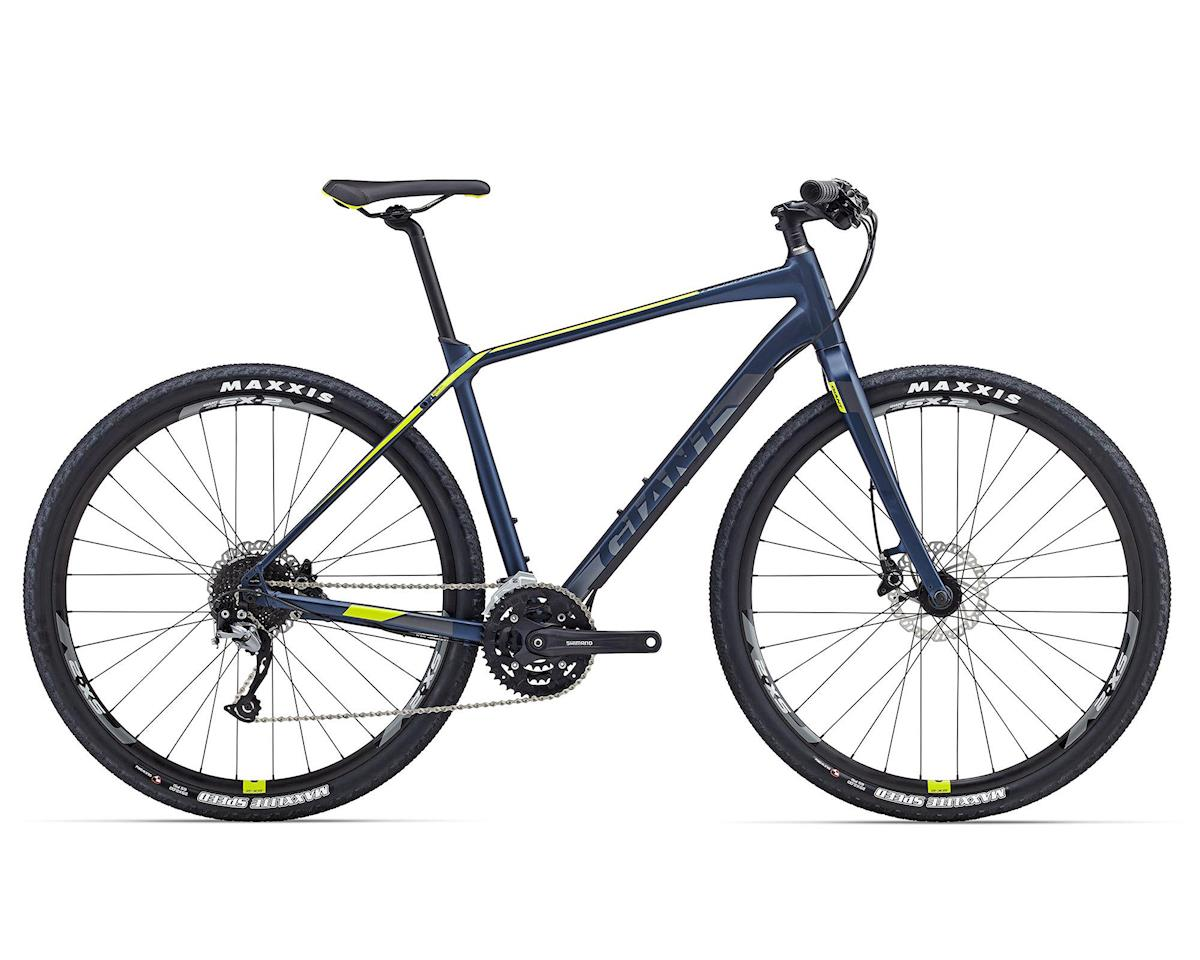 Giant ToughRoad SLR 2 Adventure Bike (2016) (Matte Navy Blue/Green)