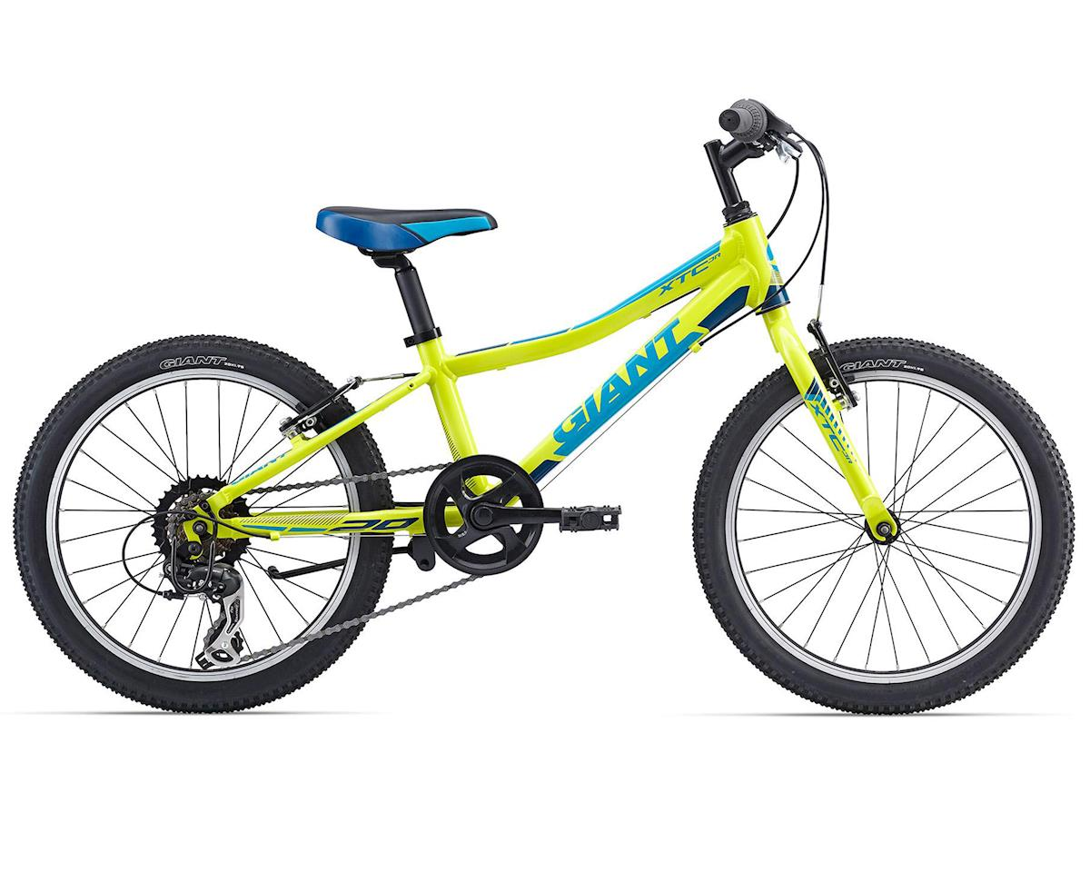 Giant XtC Jr 20 Youth MTB (2016) (Lite Yellow/Blue)