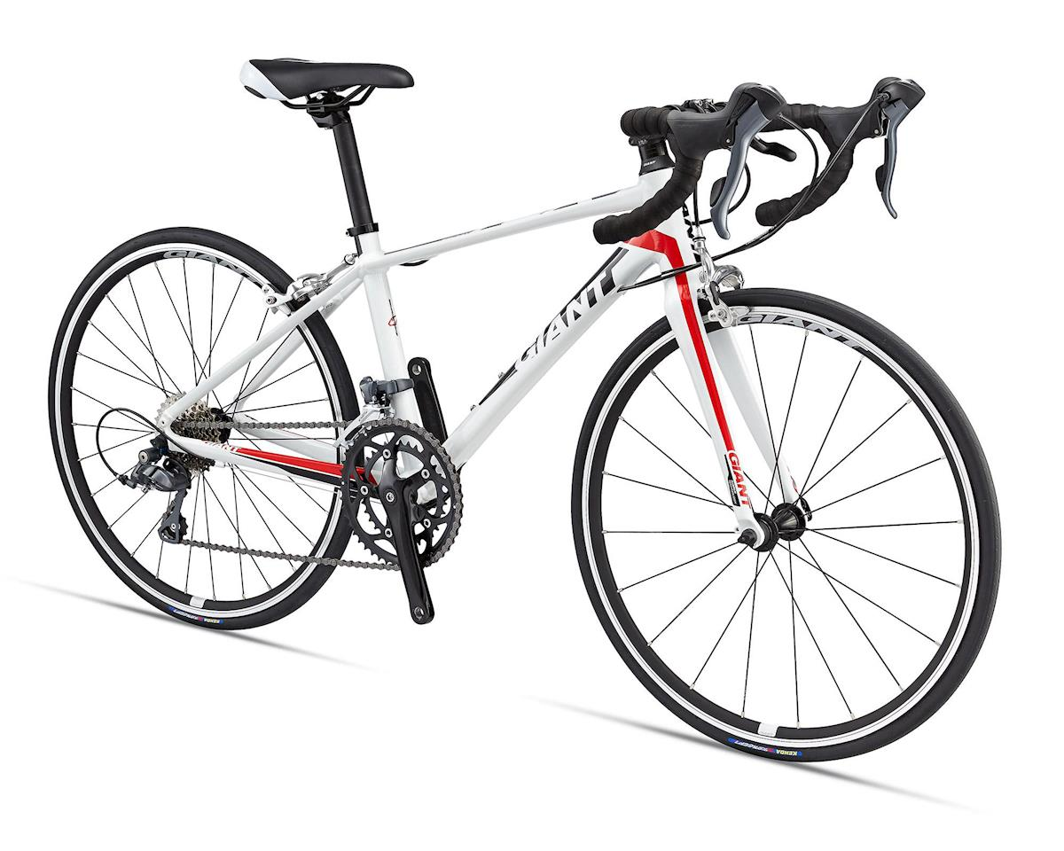Giant TCR Espoir 24 Youth Road Bike (2016) (White/Red)