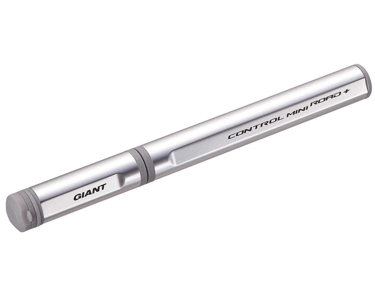 Giant Control Mini Road+ Bike Pump (Silver)