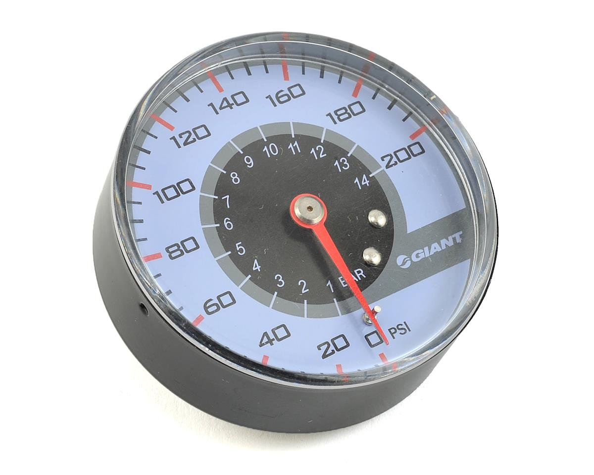 "Giant Control Tower 1 2.5"" Pressure Gauge"
