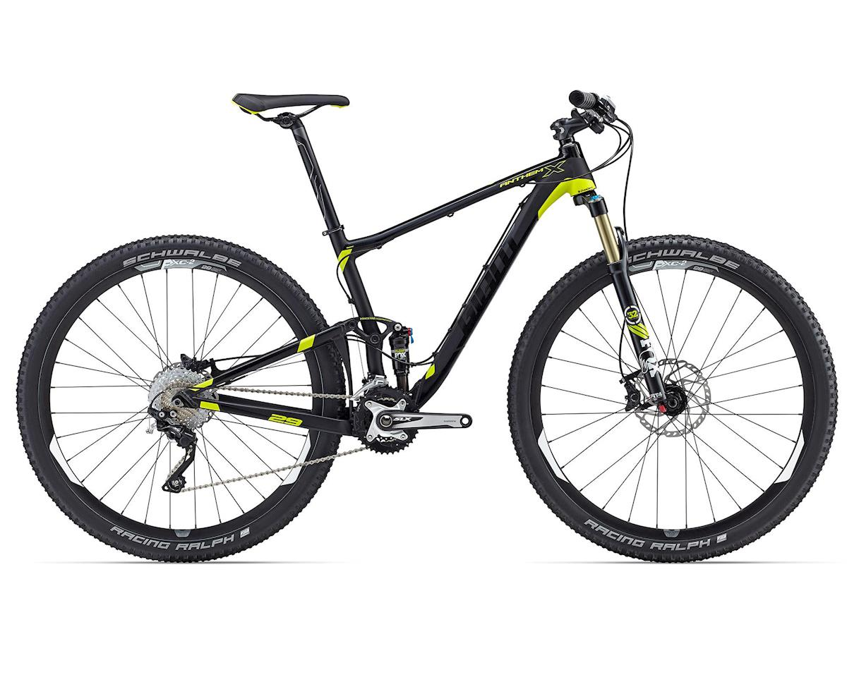 Giant Anthem X 29er (2016) (Matte Black/Charcoal/Yellow)