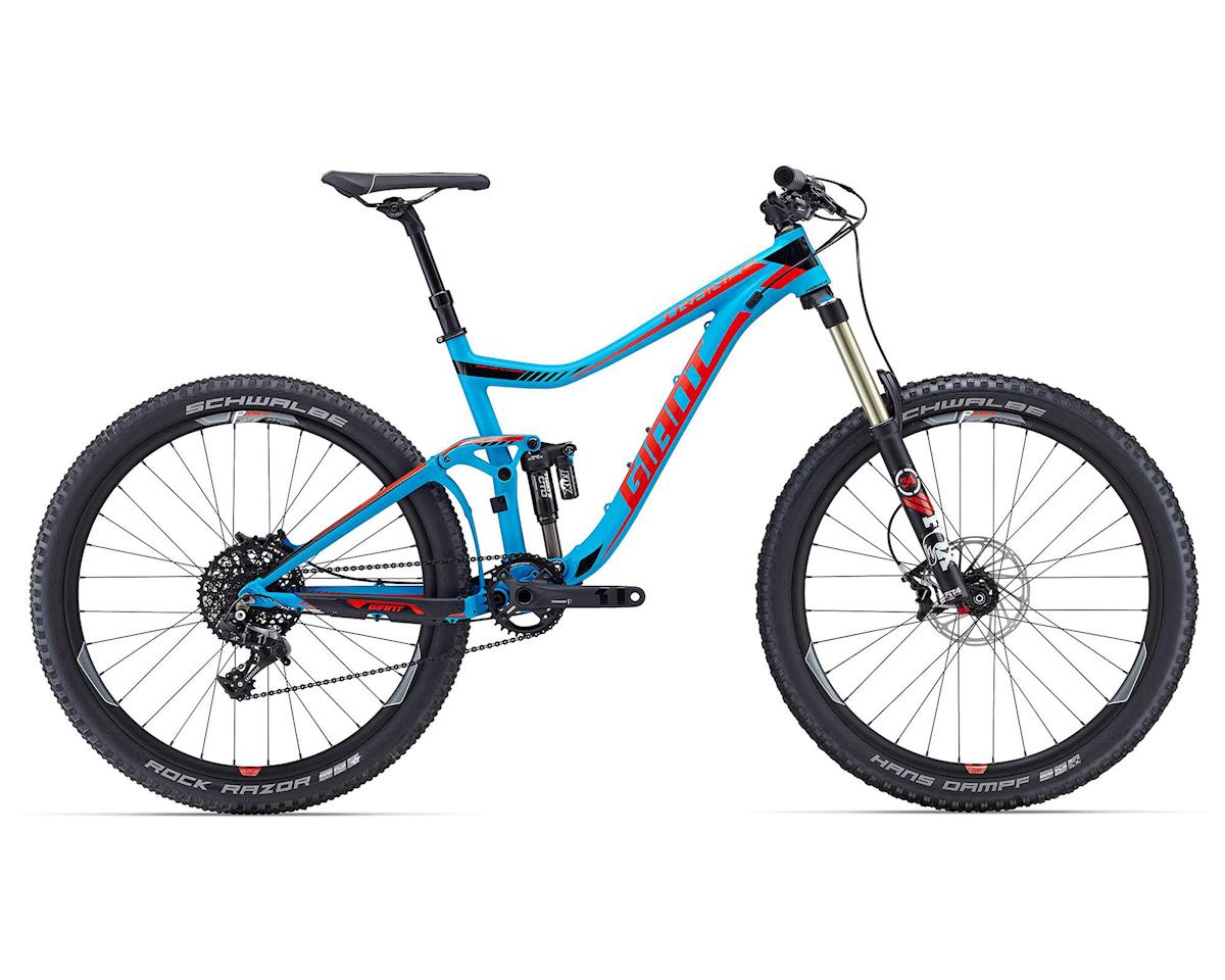 Giant Trance SX 27.5 (2016) (Matte Blue/Red)