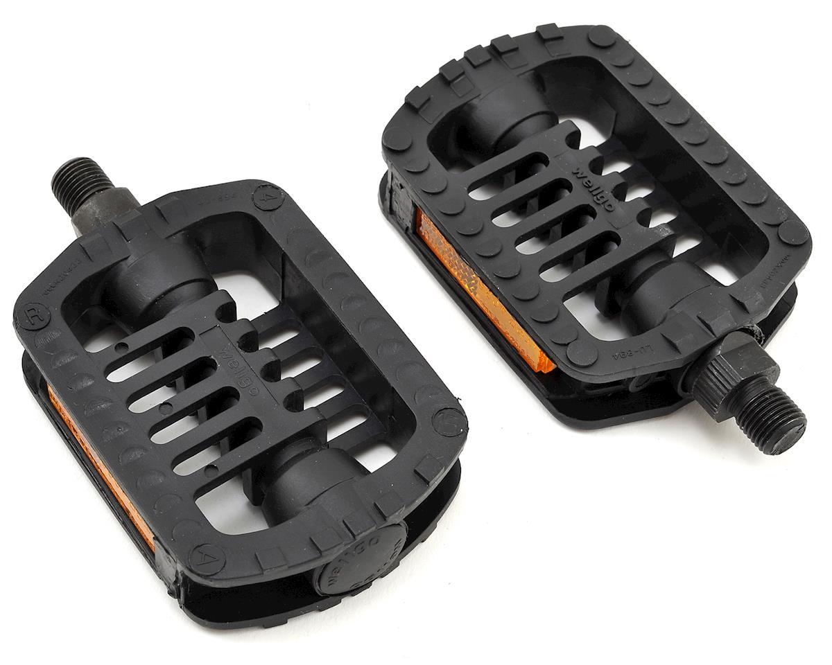 """Giant Plastic Juvenile Pedals 1/2"""" Axle (Black)"""