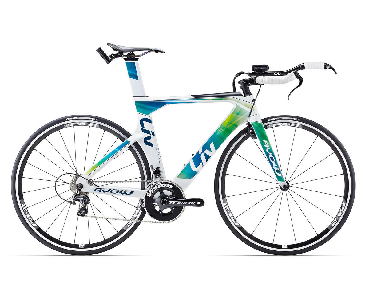 Liv/Giant 2017 Avow Advanced (White/Green/Blue)