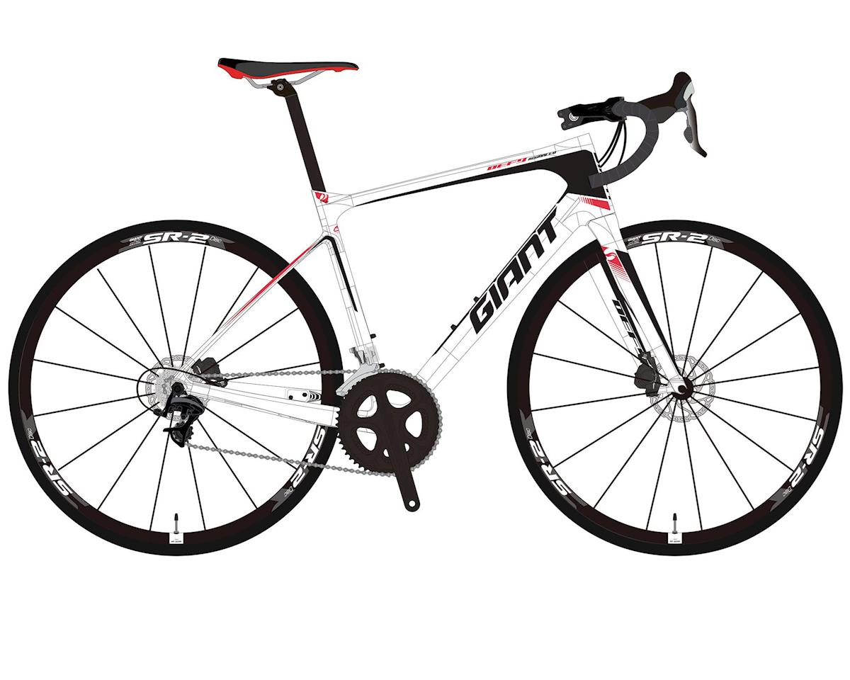 Giant 2017 Defy Advanced 3 (White/Neon Red/Black)