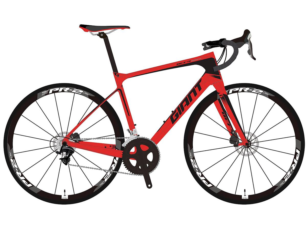 Giant 2017 Defy Advanced 2 (Neon Red)
