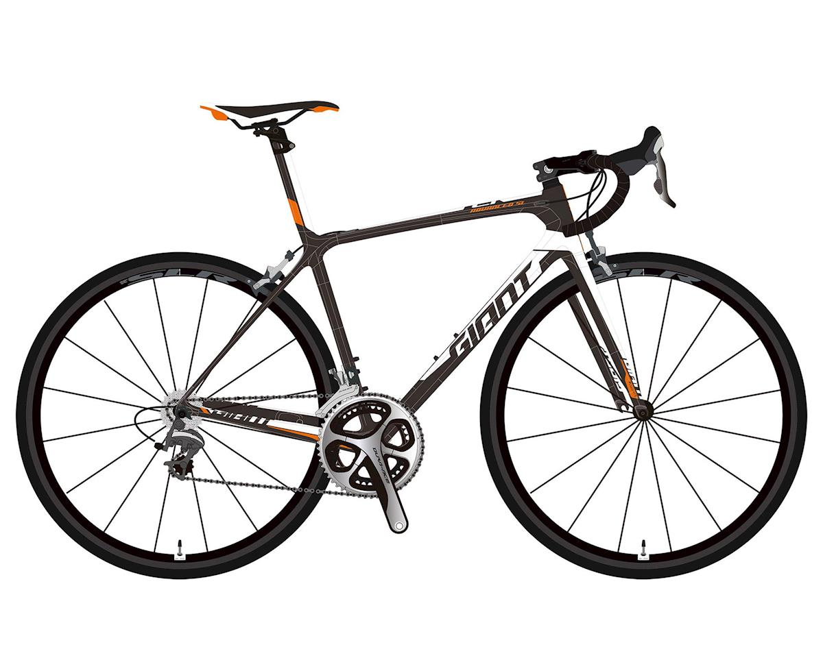 Giant 2017 TCR Advanced SL 1 (Composite/Neon Orange/White)