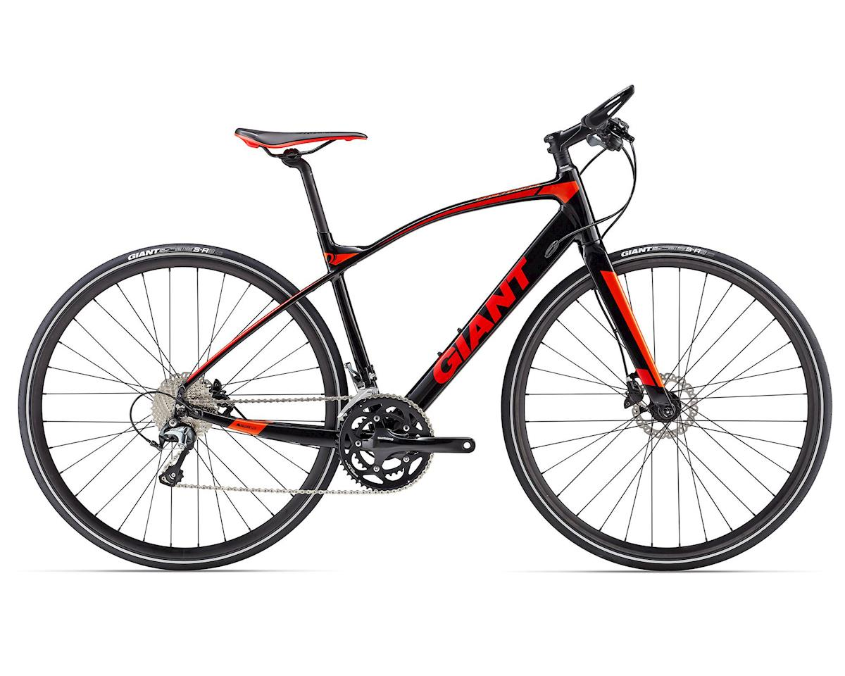 Giant 2017 FastRoad SLR 1 (Black/Red/Orange)