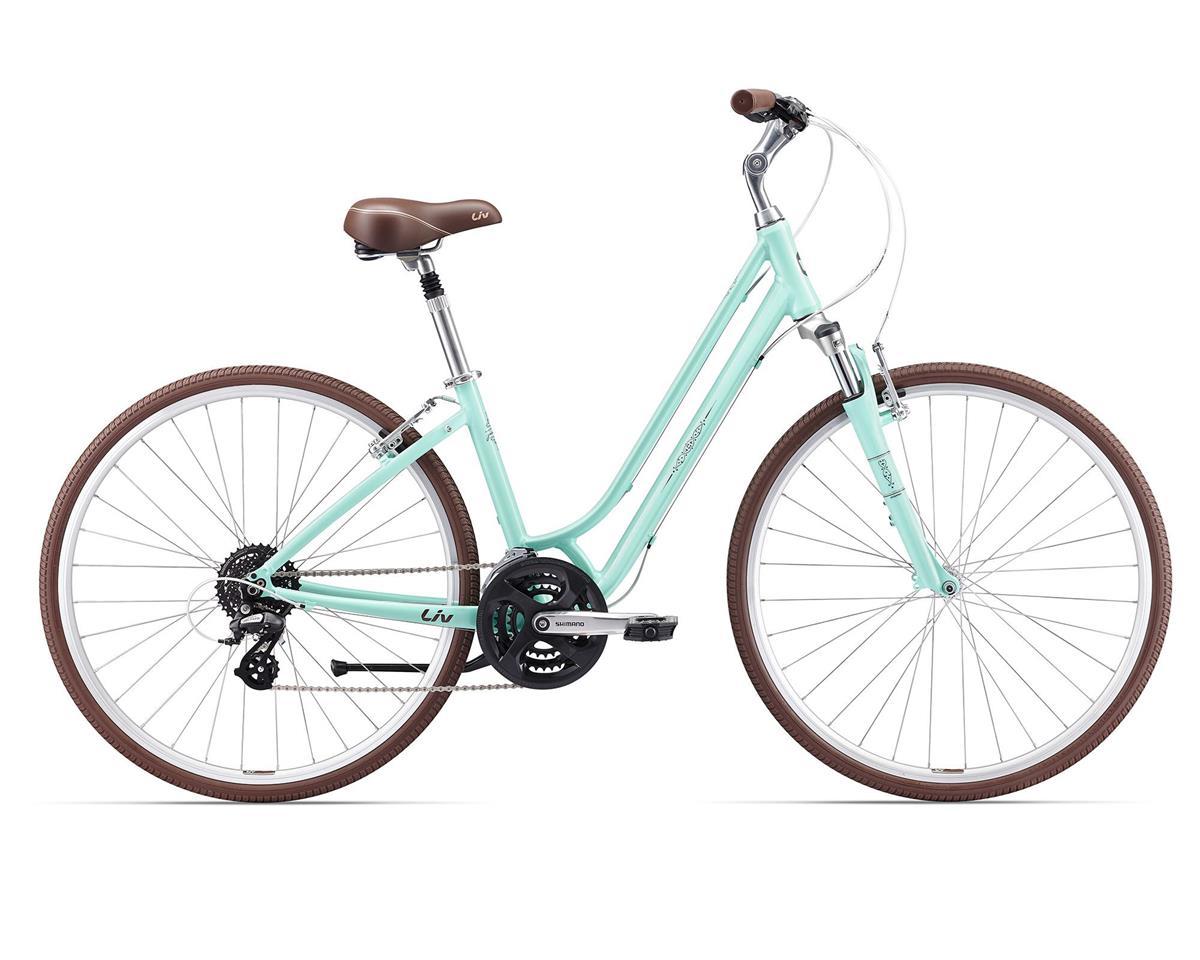 Liv/Giant 2017 Flourish FS 1 Women's Town Bike (Pastel Aqua)