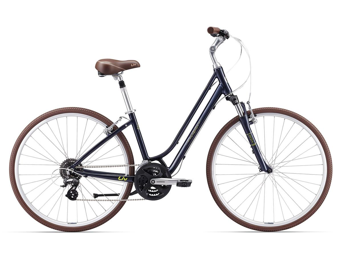 Liv/Giant 2017 Flourish FS 1 Women's Town Bike (Gray Blue)