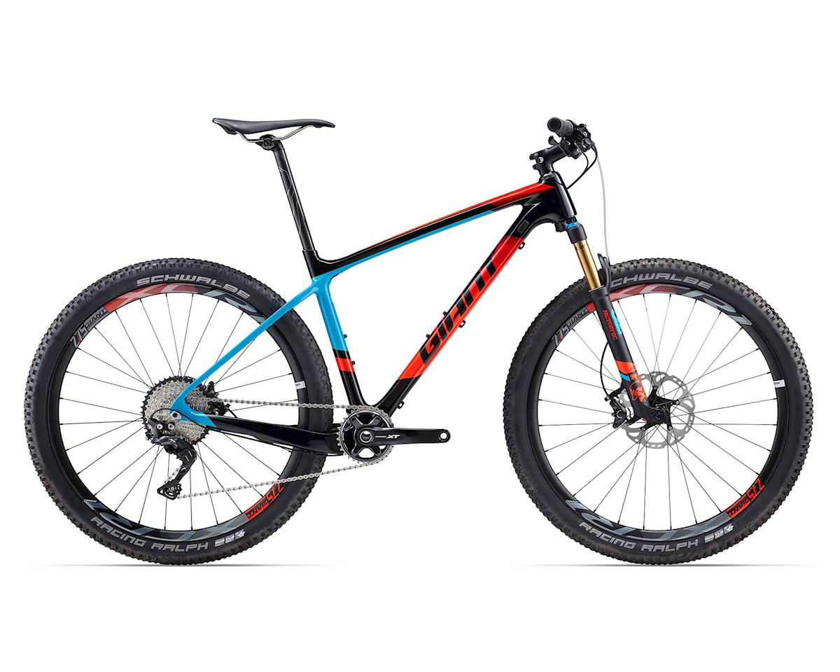 Giant 2017 XTC Advanced 1 (Composite/Blue/Neon Red)