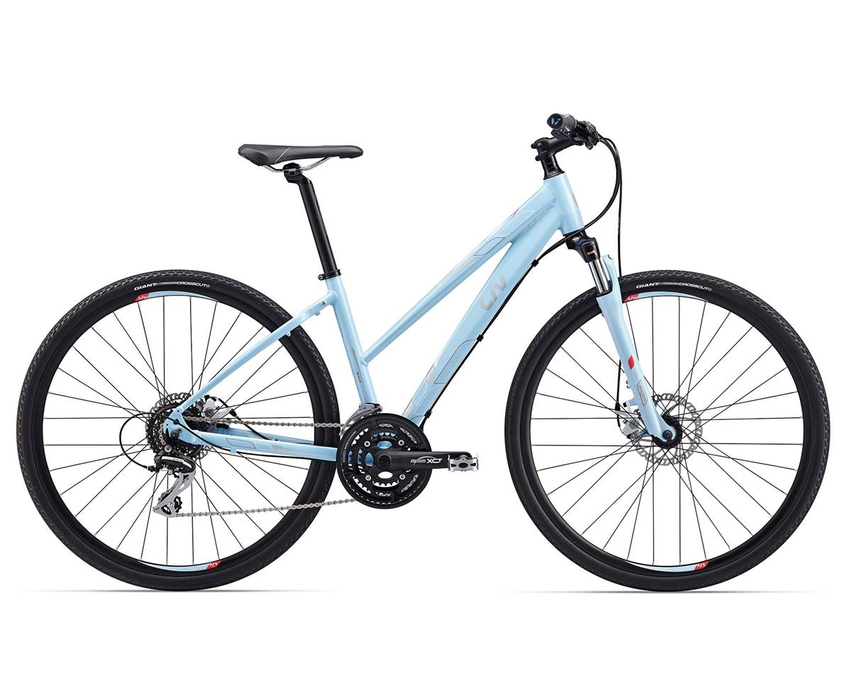 Liv/Giant 2017 Rove 3 Step-Thru Disc (Light Blue)