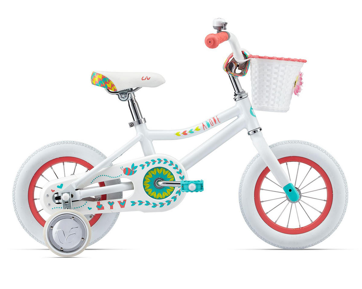 2017 Adore 12 Kid's Bike (White)