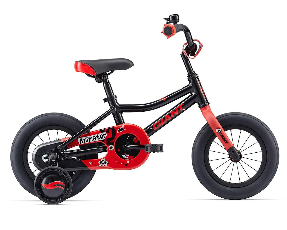 Giant 2017 Animator 12 Kid's Bike (Black)