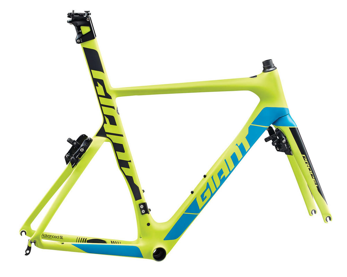 Giant 2017 Propel Advanced SL-Frameset (Yellow/Blue Green)
