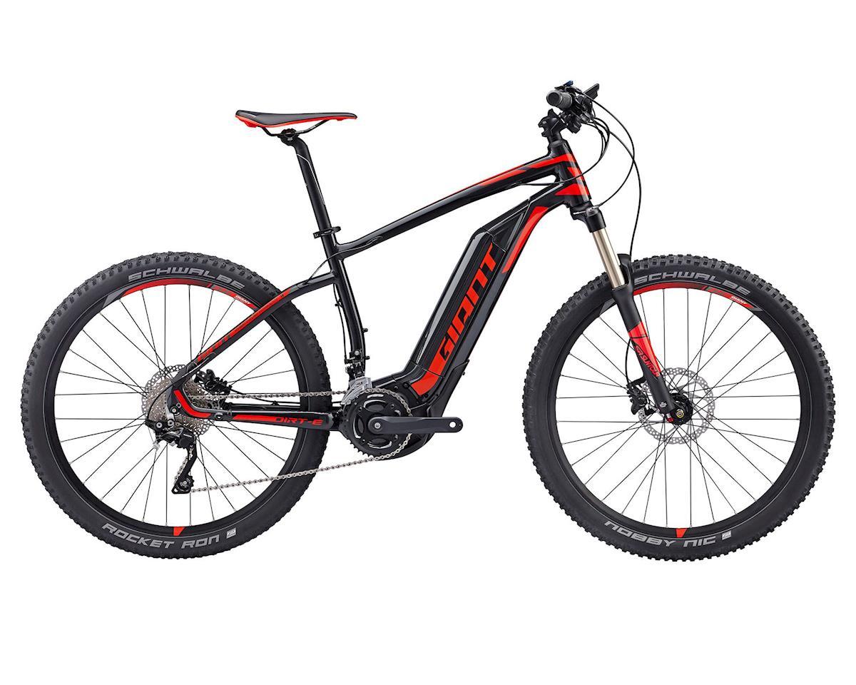 Giant 2017 Dirt-E+ 1 20mph Electric Mountain Bike (Black/Red)