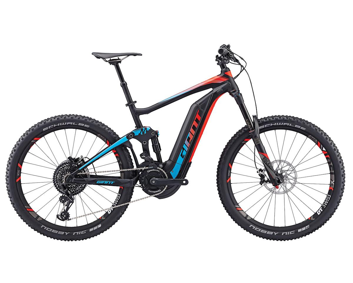 Giant 2017 Full-E+ 0 SX 20mph Electric Mountian Bike (Black/Neon Red/Blue)