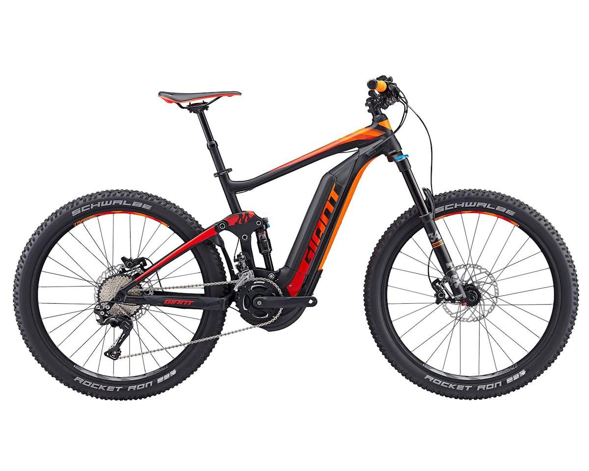 Giant 2017 Full-E+ 1 20mph Electric Mountain Bike (Black/Red/Orange)