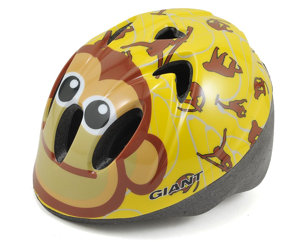 Giant Cub Infant Helmet (XS) (Yellow/Brown Monkeys)