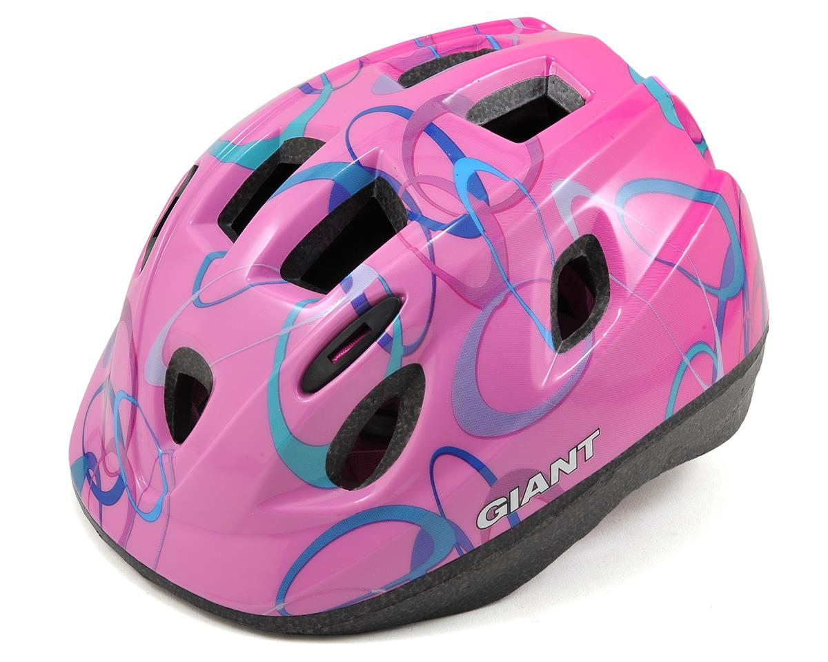 Giant Pup Toddler Helmet (SM) (Pink Circles)