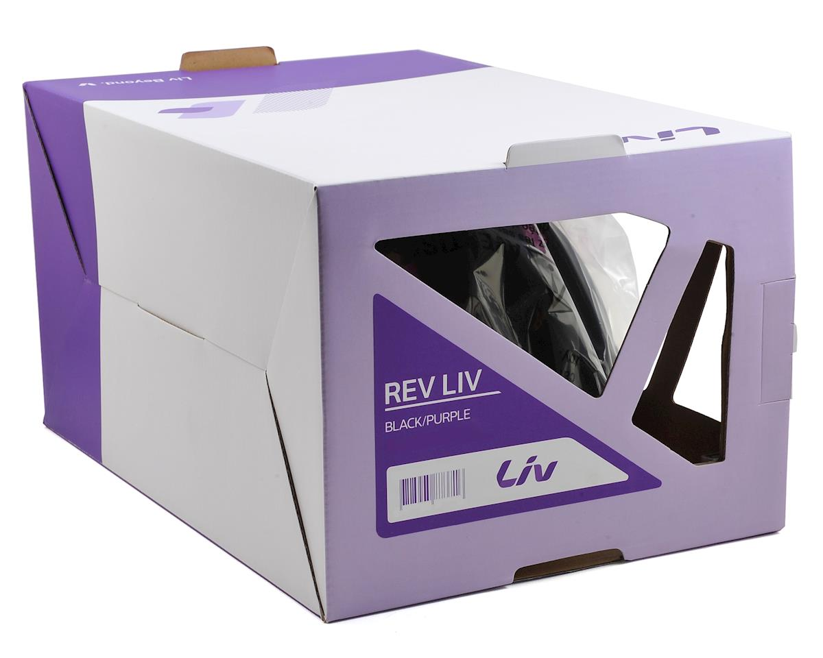 Liv/Giant Rev Road Women's Cycling Helmet (Black/Purple) (S)
