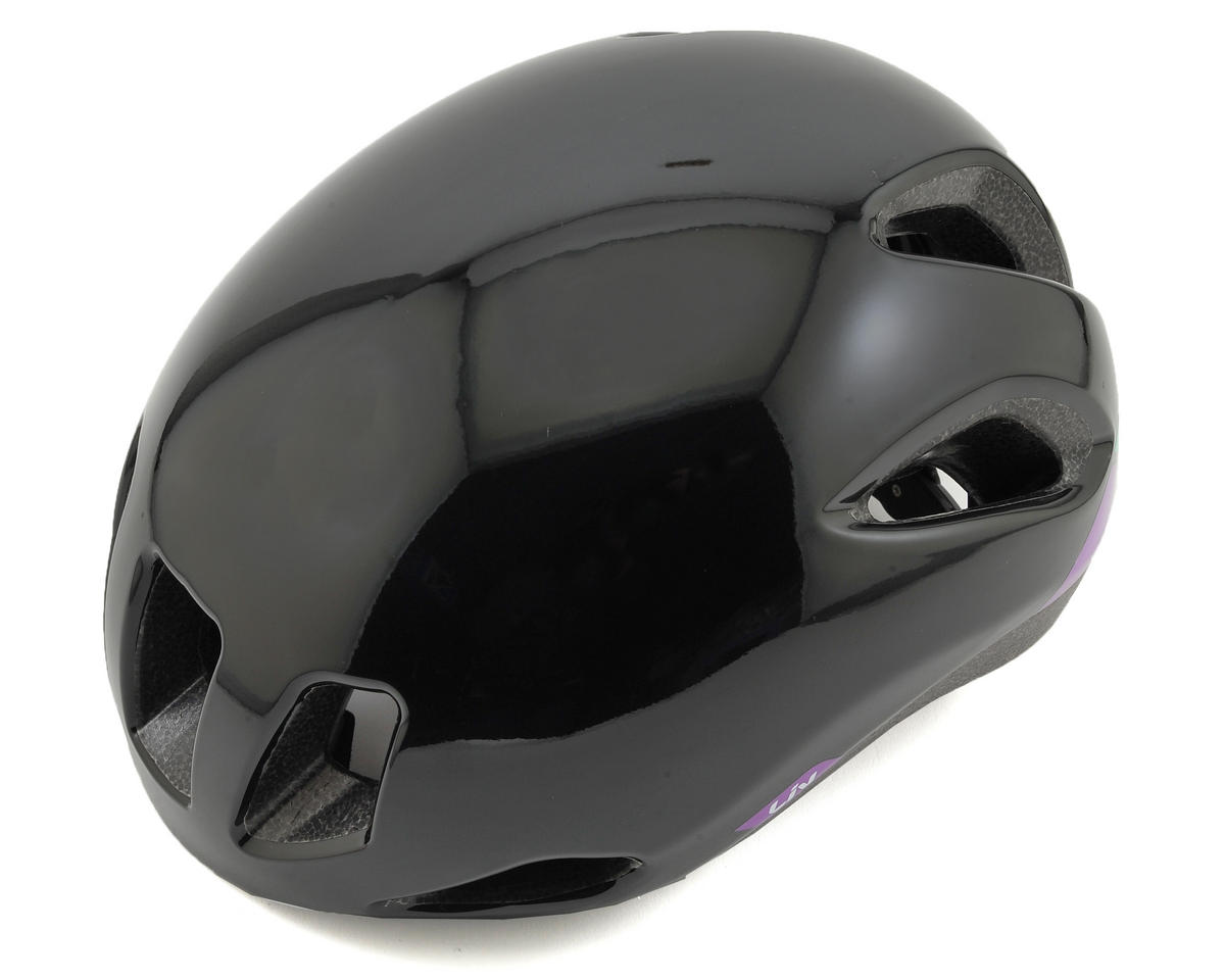Liv/Giant Attacca Women's Aero Road Helmet (Black/Purple)