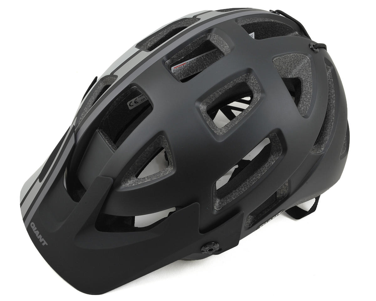 Giant Rail MTB Helmet (Black/Grey) (M)