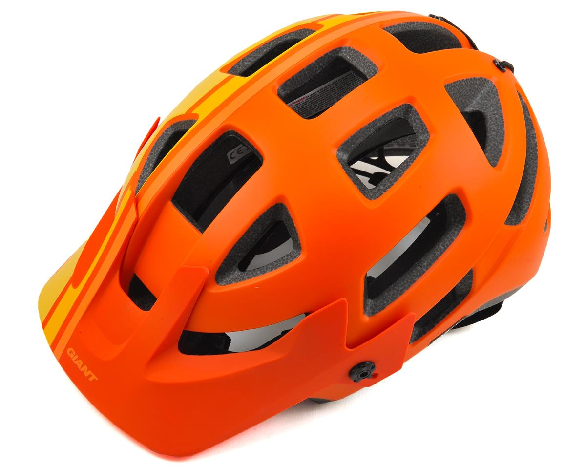 Giant Rail MTB Helmet (Orange/Yellow) (S)