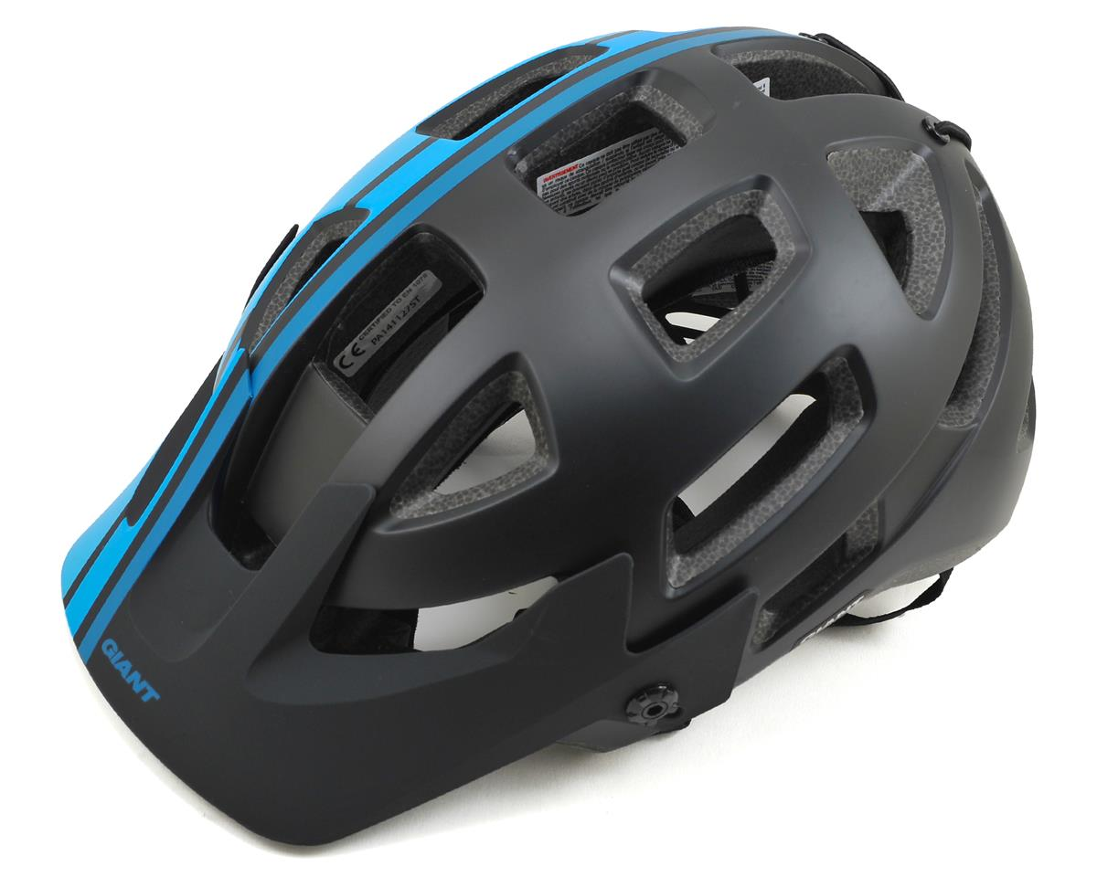 Giant Rail Helmet (Black/Blue) (S)