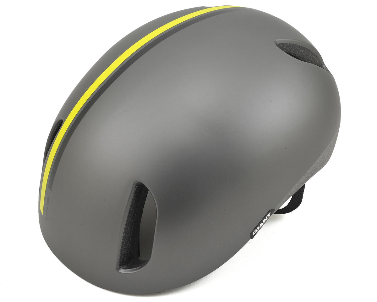 Giant District Urban Cycling Helmet (Black/Yellow)