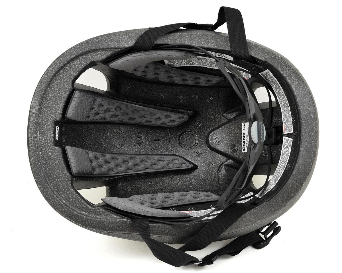 Giant District Urban Cycling Helmet (Black/Yellow) (M)