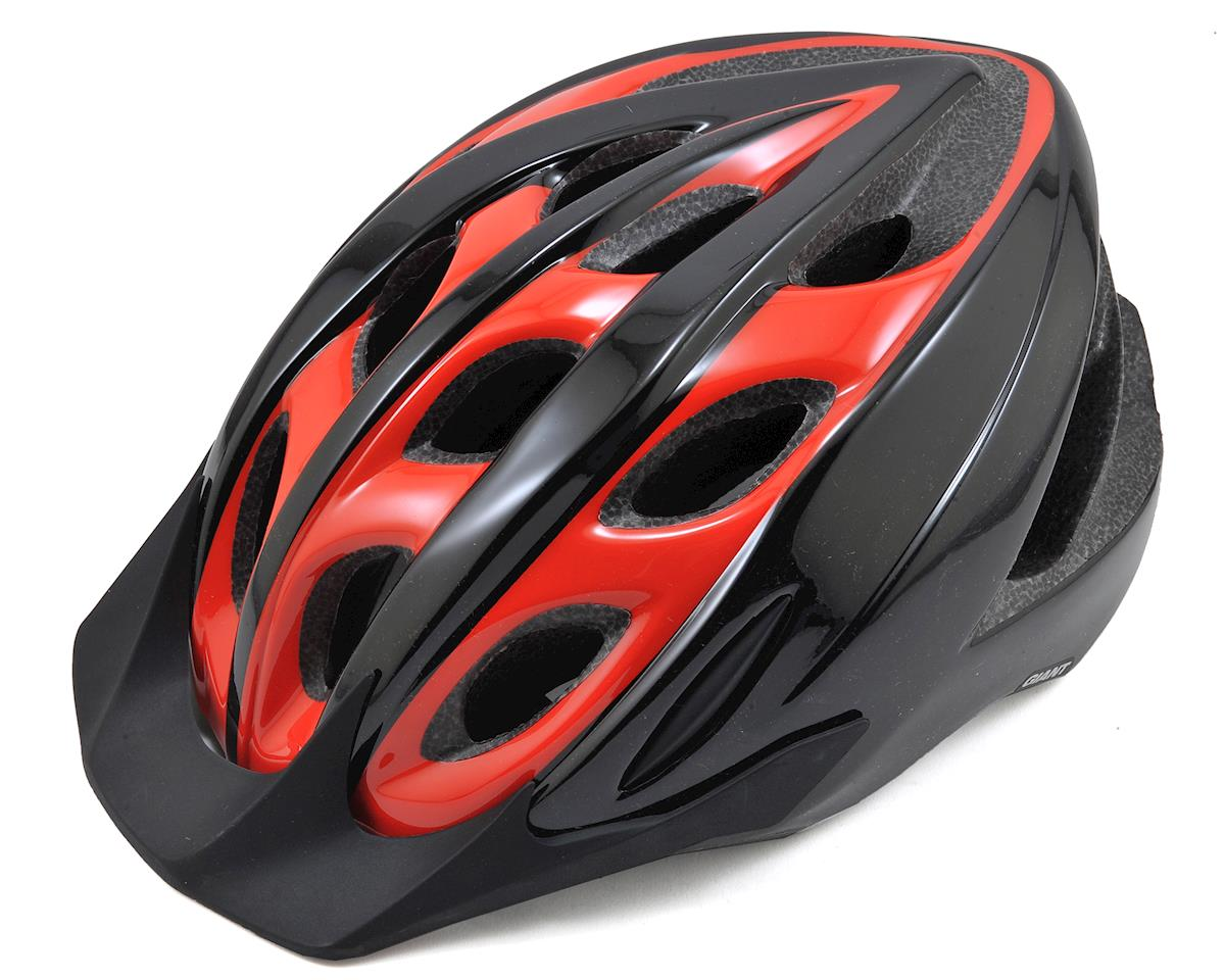 Giant Horizon Bike Helmet (Black/Red)