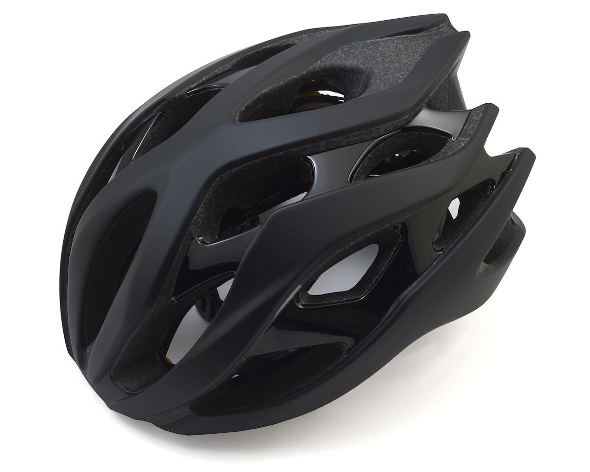 Giant Rev MIPS Road Helmet (Matte Black/Gloss Black) (M)