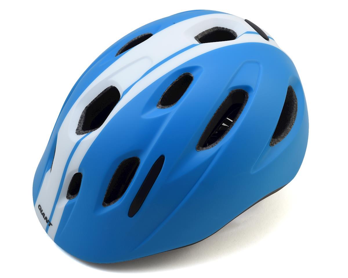 Giant Hoot Youth Helmet (Race Blue) (One Size)