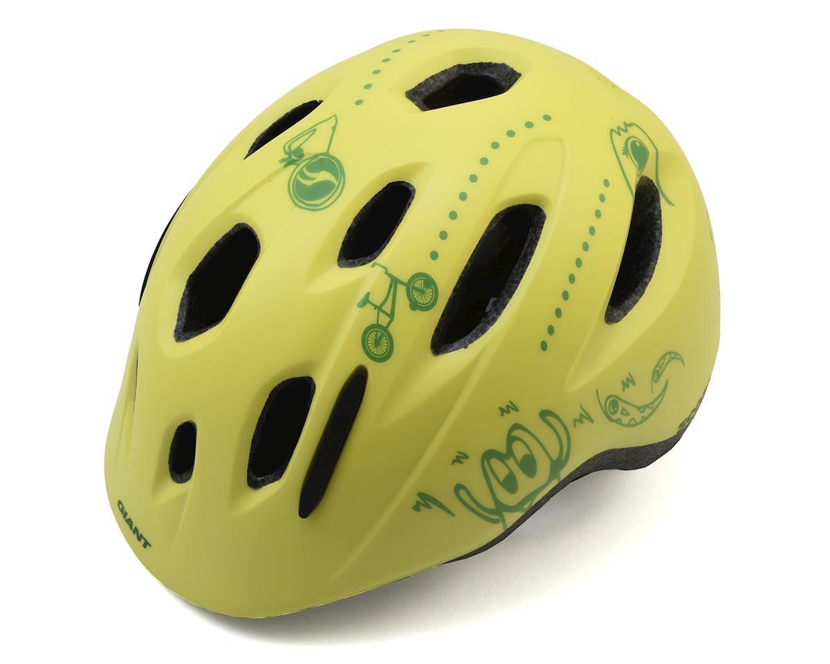 Giant GNT Holler Youth Helmet OSFM Yellow