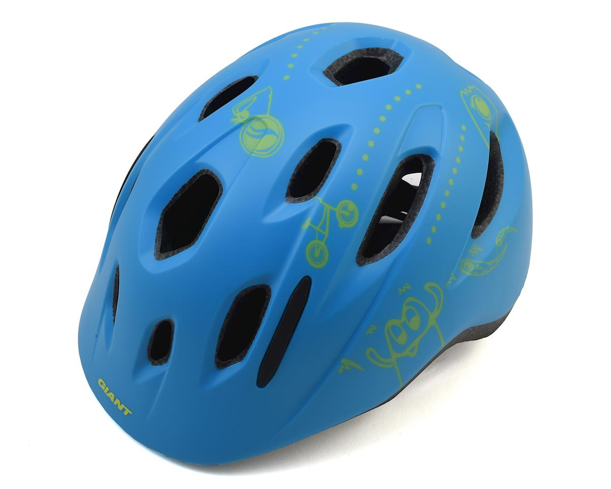 Giant Holler Youth MIPS Helmet (Matte Blue) (One Size)