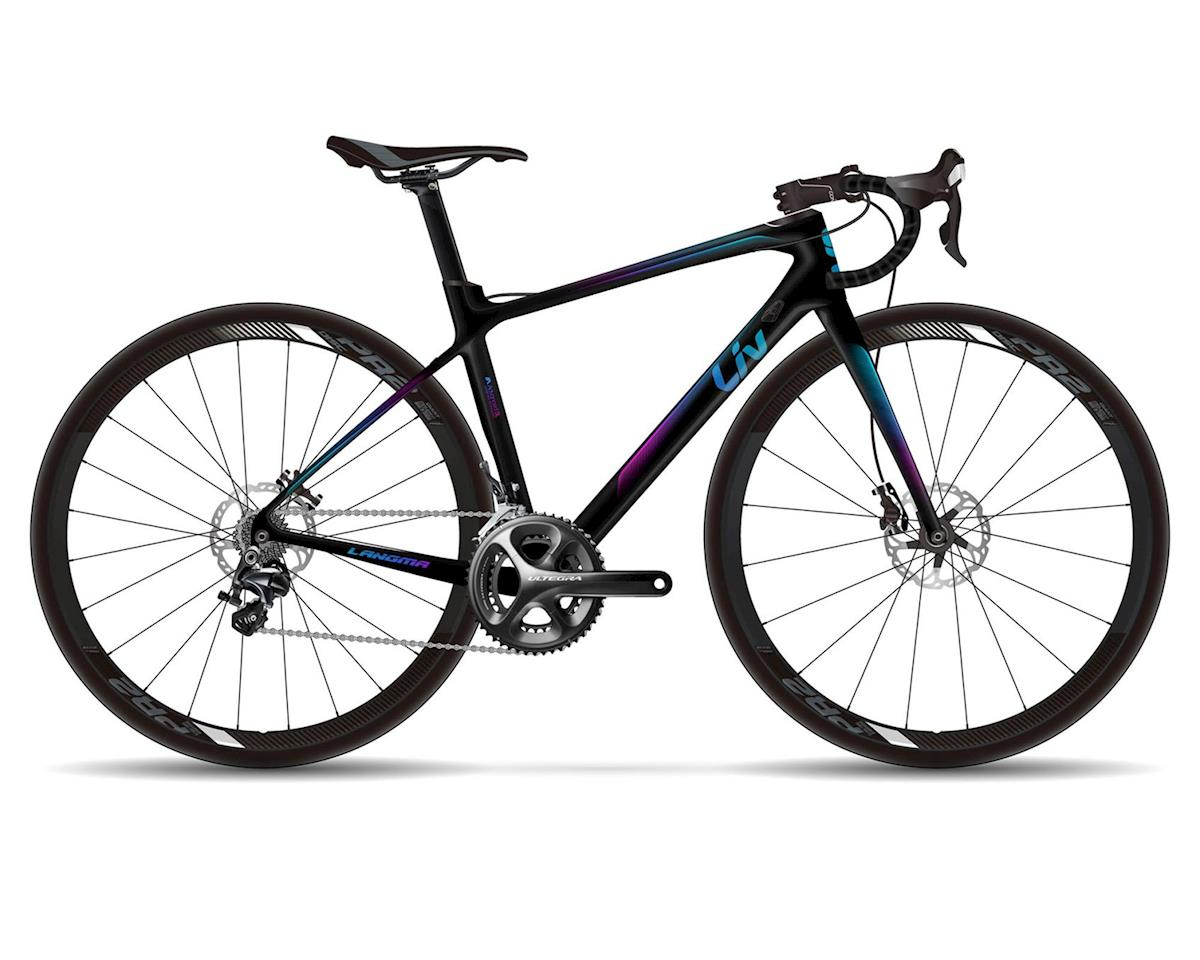 Langma Advanced Disc (Satin Dark Blue Carbon/Fuchsia/Blue)