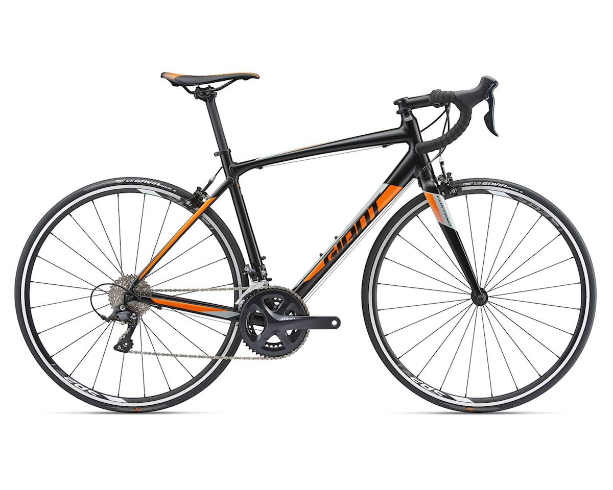 Giant 2018 Contend 1-TR (Satin Black/Orange/Silver) (M)