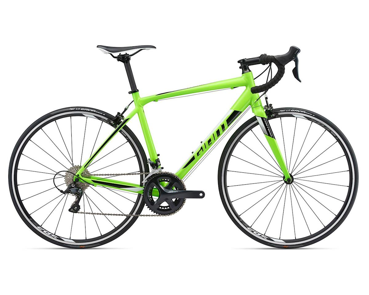 Giant 2018 Contend 1-TR (Green/Black/White) (ML)