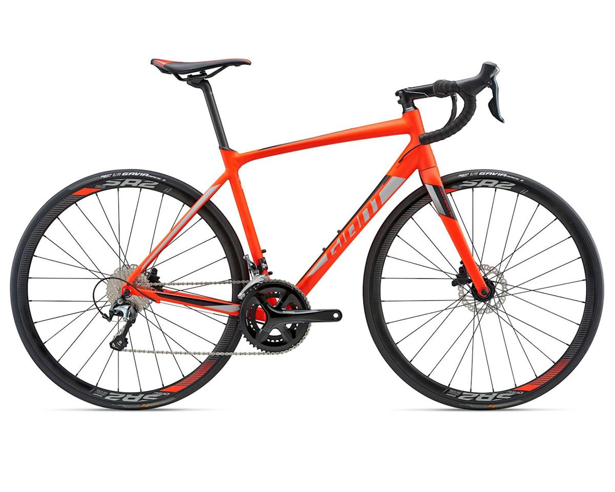 Giant 2018 Contend SL 2 Disc (Neon Red) (ML)