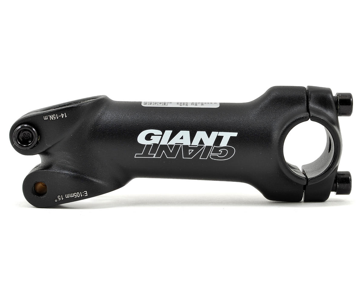 "Giant Alloy 1-1/8"" Stem (+/-15°) (Black) (25.4 x 105mm)"