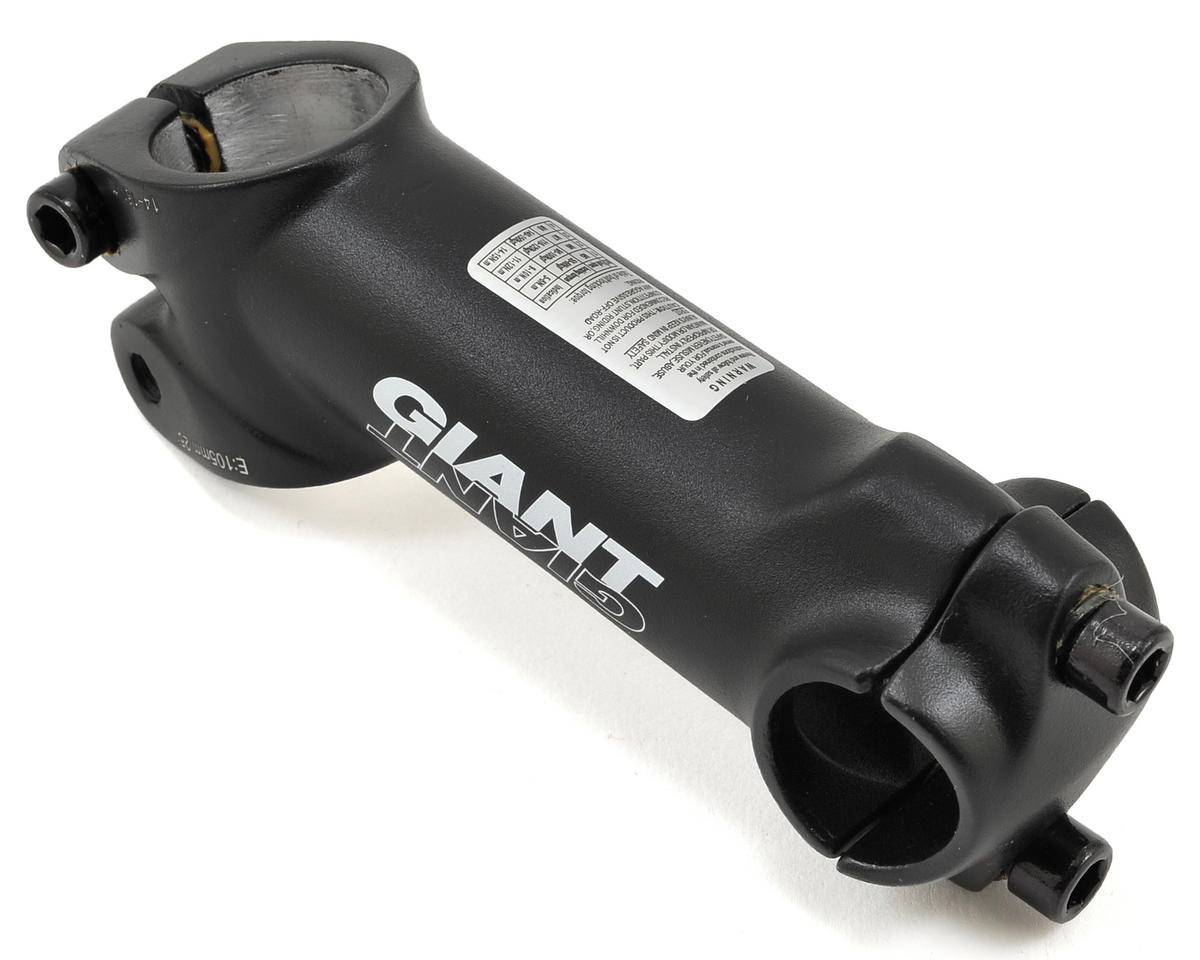 "Giant Alloy 1-1/8"" Stem (+/-25°) (Black) (25.4 x 105mm)"